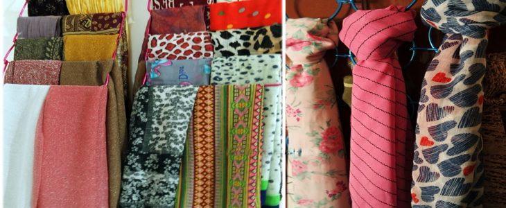 Cara Melipat Jilbab Segi Empat Dan Pasmina Anti Kusut